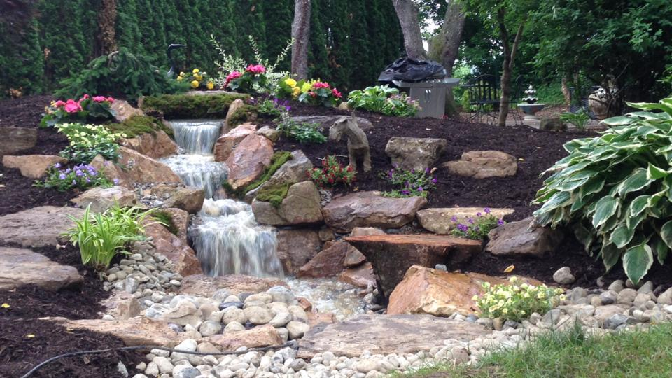 Come, See The Waterfalls In My Whimsical Gardens U0026 Get Inspired !